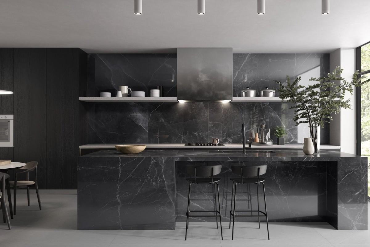 Amani Marble Light grey amb