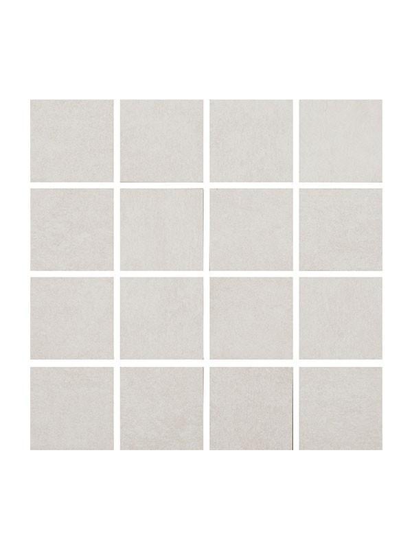 Norwich Blanco Mallas 30x30, gres mozaik