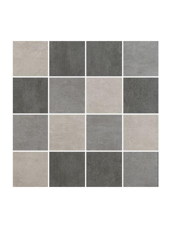 Norwich Mix Gris Mallas 30x30, gres mozaik